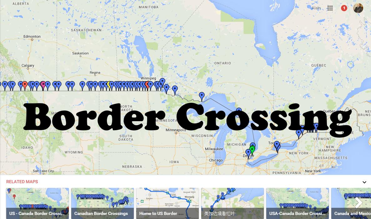 Google border